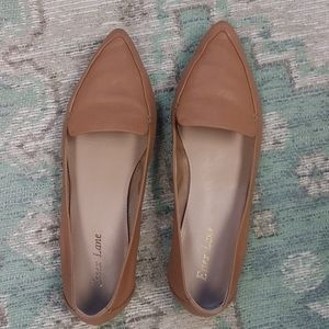 Essex Lane Tan Leather Loafers